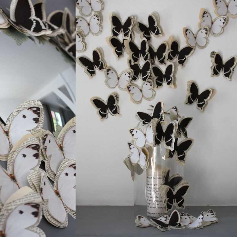 Поделки из бабочек своими руками