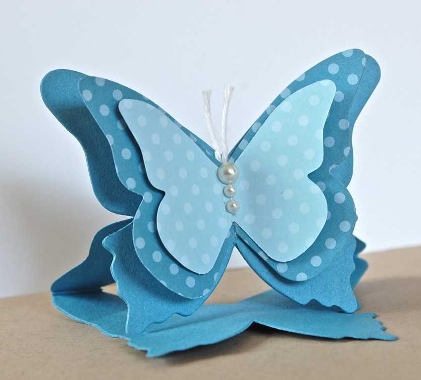 Сделать открытки с бабочкой