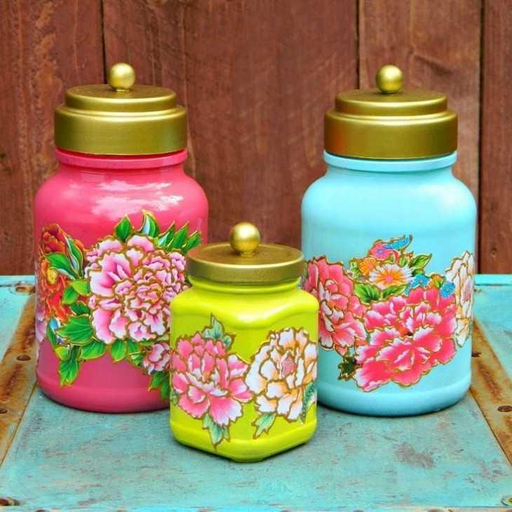 Поделки из банок - 62 фото идеи самодельных изделий декора из банок