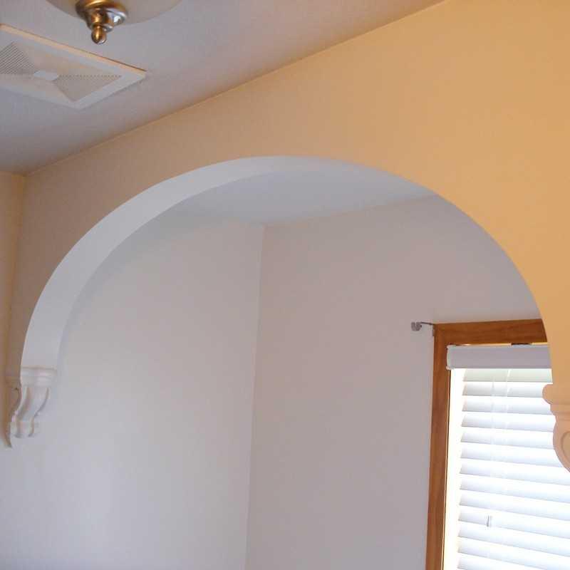 картинки арок в дверном проеме из гипсокартона