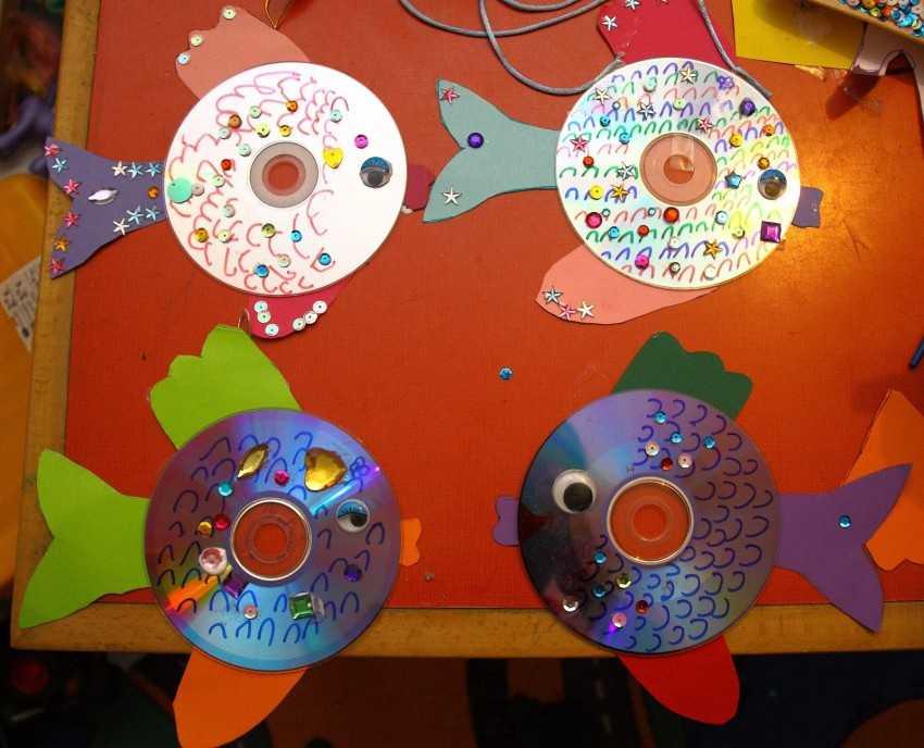 поделки из двд дисков своими руками фото