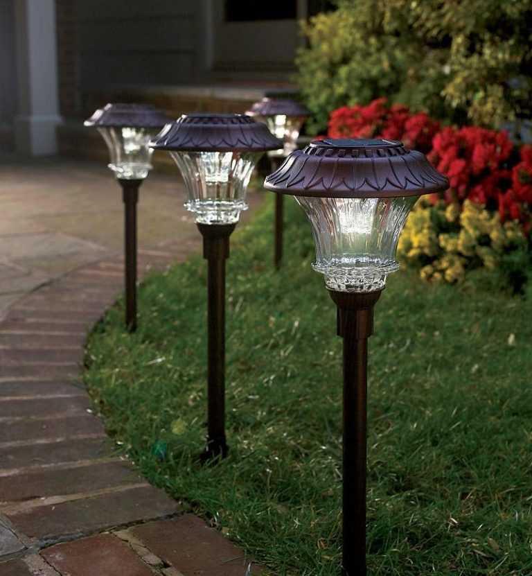 картинки садовых фонариков