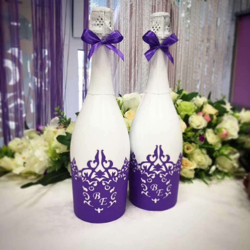 Декор бутылок: мастер-класс изготовления стильного и оригинального элемента декора (85 фото) || Как оформить бутылку водки