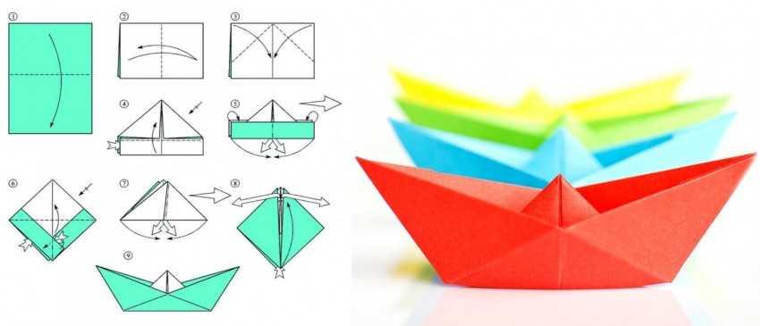 частью программы картинки кораблики из бумаги пейзажные