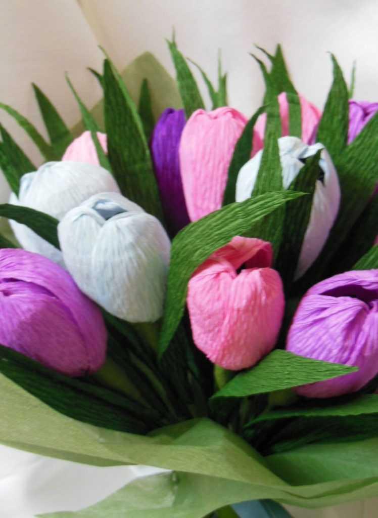 Тюльпаны своими руками картинки