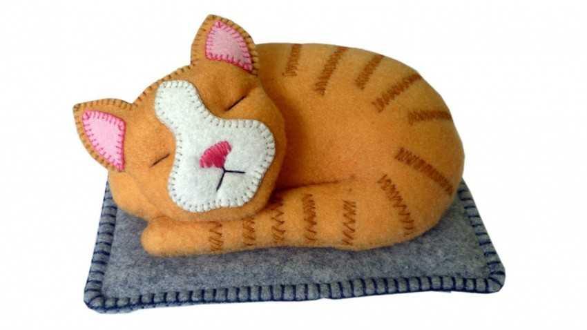 Поделка кошка – пошаговое описание как сделать красивую поделку своими руками (80 фото)