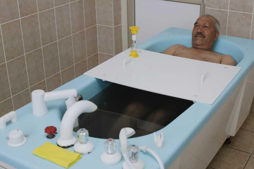 Радоновые ванны - показания и противопоказания