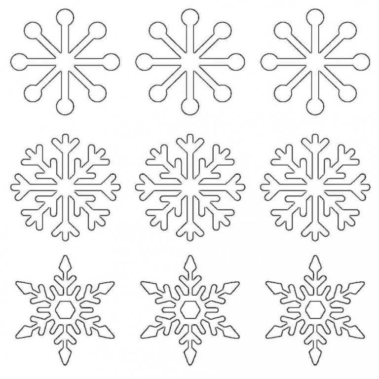 снежинки новогодние картинки для распечатки молодом возрасте