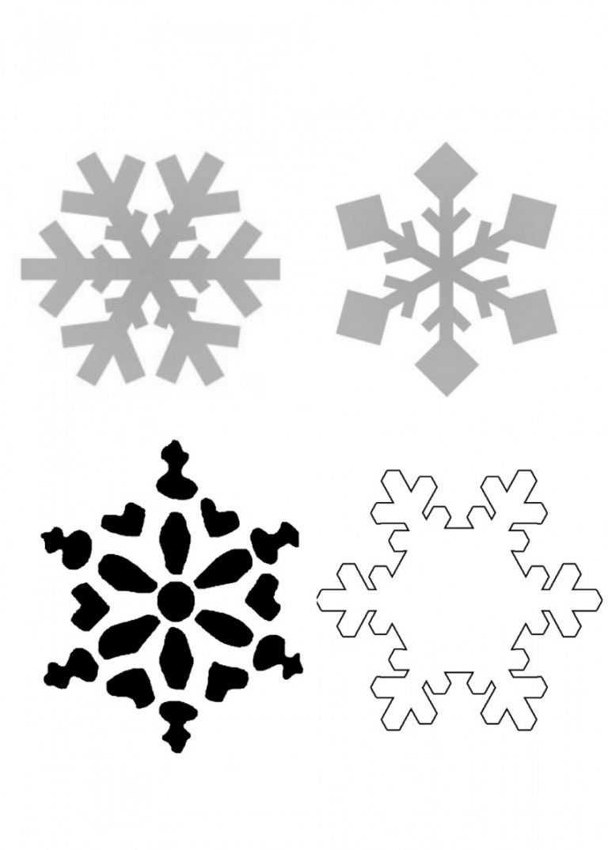 также трафареты на снежинки все картинки стойка может быть