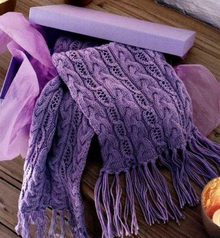 Как связать шарф для начинающих