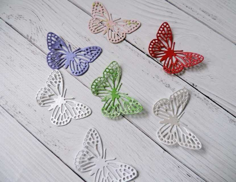 Бабочка для скрапбукинга своими руками 207