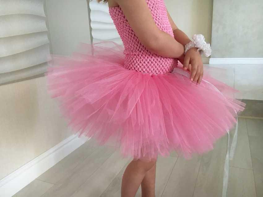 Платье или юбка из фатина своими руками 38