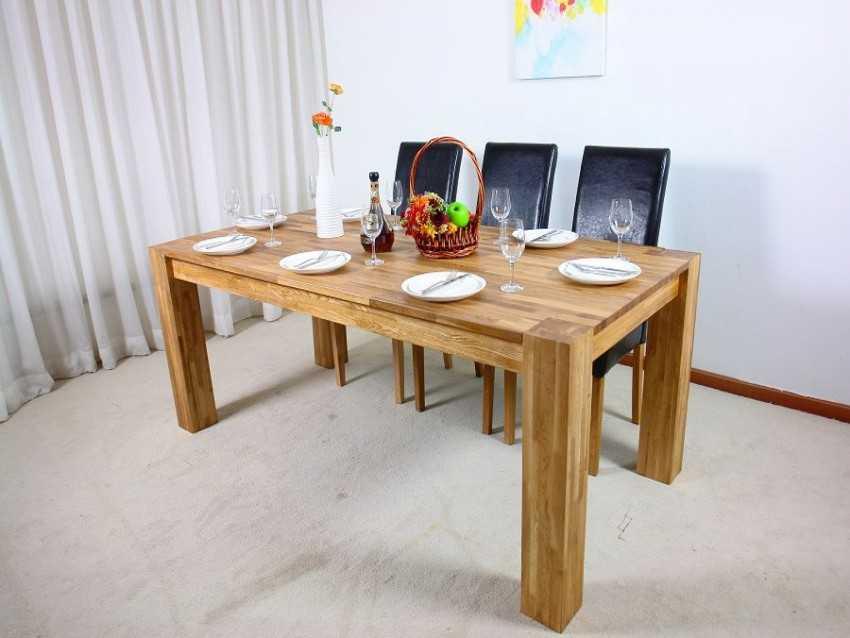Столовый стол из дерева своими руками 50