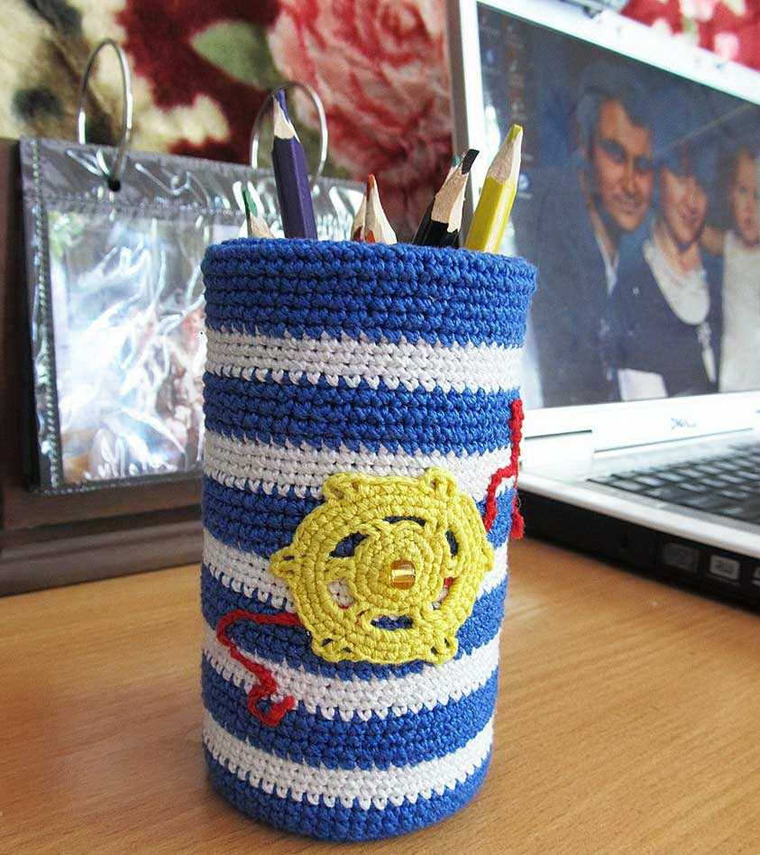 Карандашница из жестяной банки своими руками фото 329