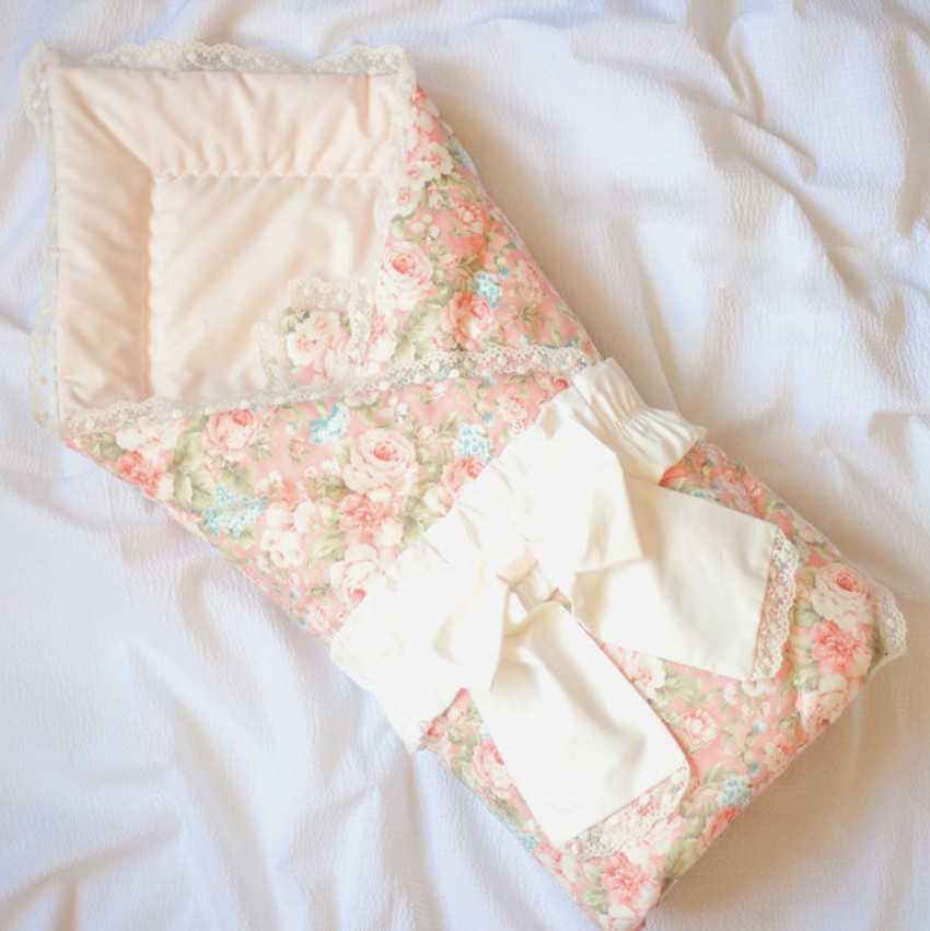 Своими руками: Одеяло на выписку для новорожденного