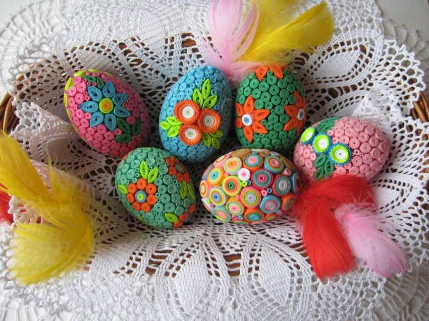 К пасхе яйца свои руки 461
