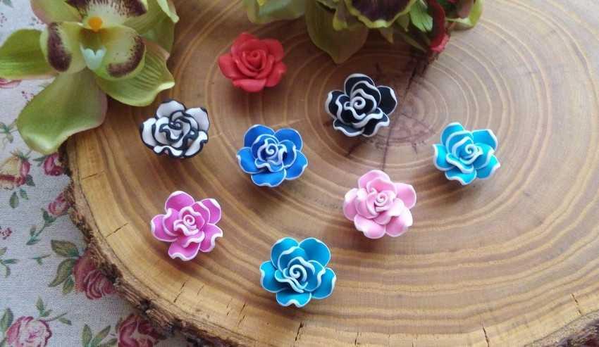 Цветы из полимерной глины: пошаговая инструкция для начинающих 25