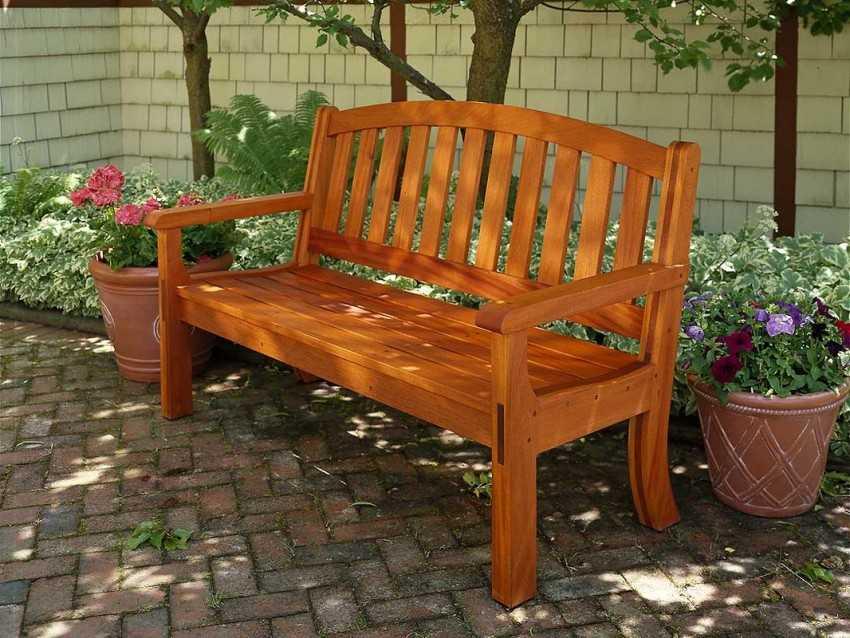Изготовление деревянных скамеек своими руками 5394