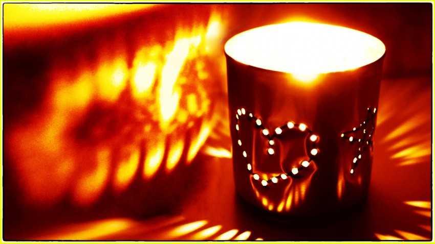 Лампа ночная своими руками 14
