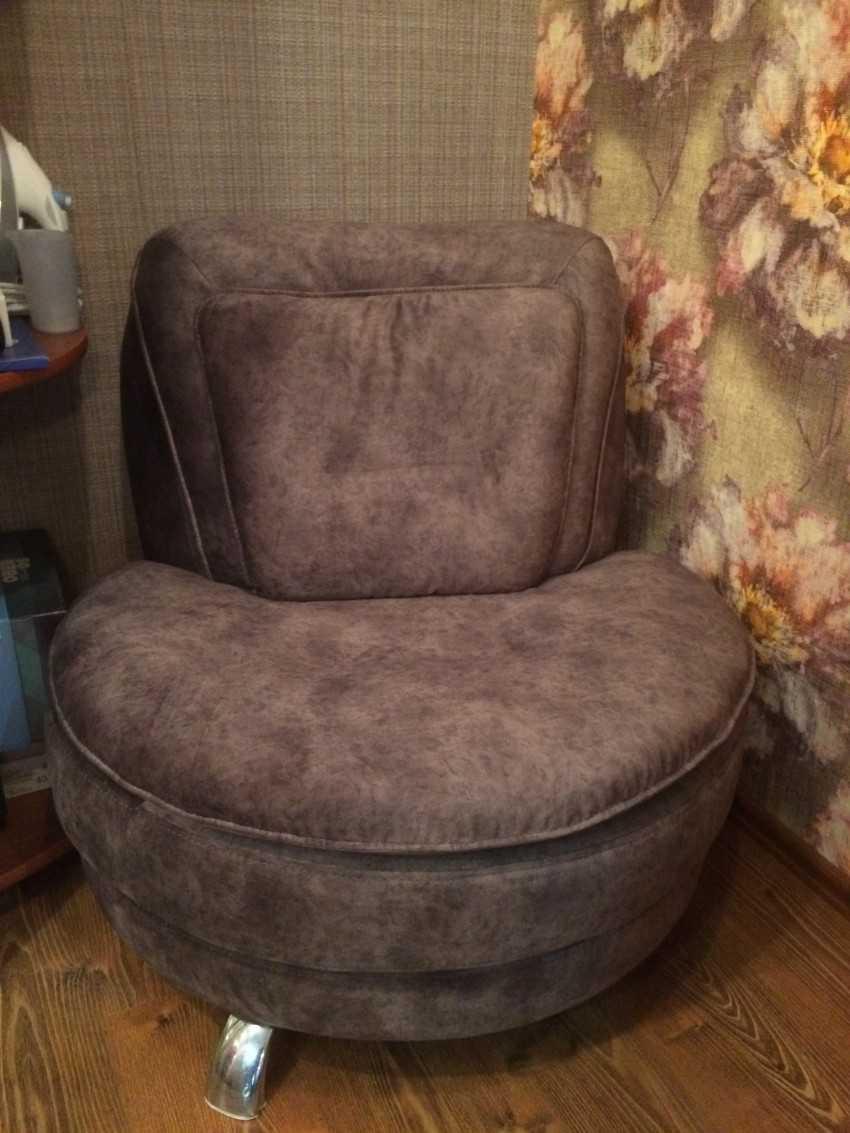 Обтяжка старого кресла своими руками 90