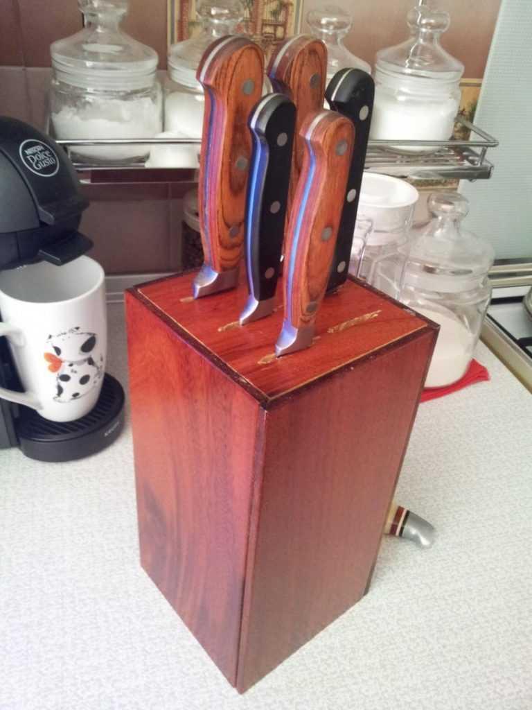 Подставка для ножей своими руками чертежи фото 227