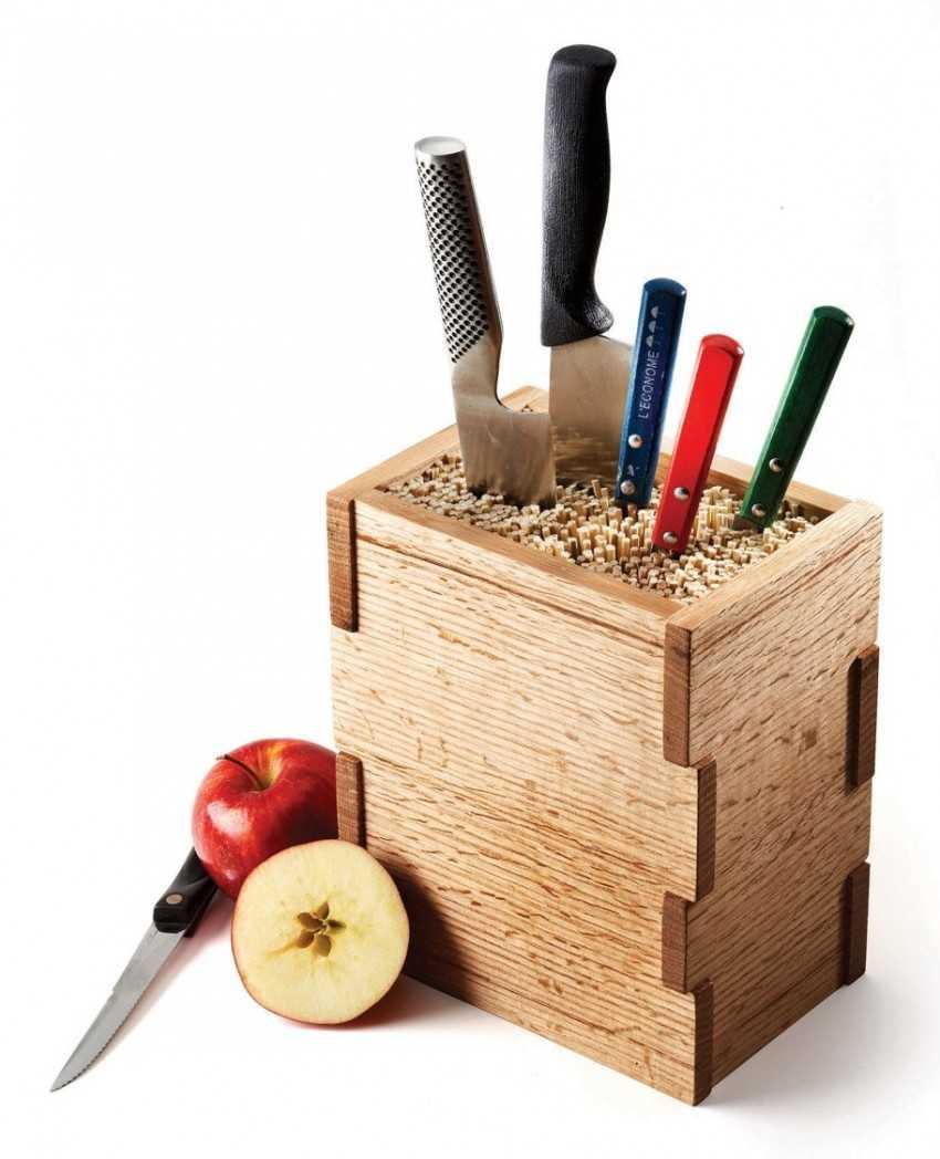 Подставка для ножей своими руками чертежи фото 471