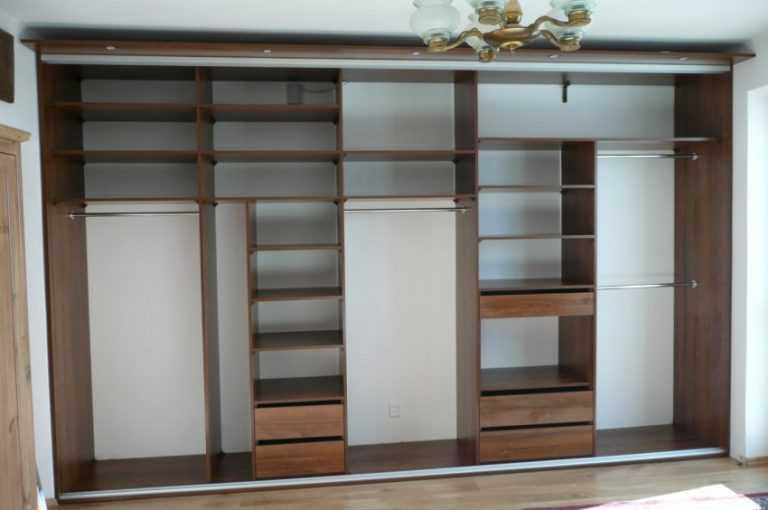 Встроенный шкаф своими руками инструкция