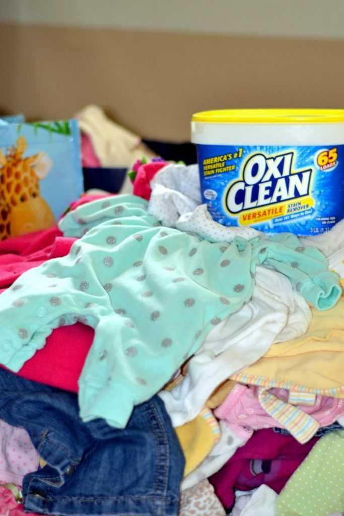 Как вывести пятна с детской одежды от еды фото